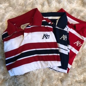 Stripes! 3 Men's XL Aeropostale Polo Bundle!